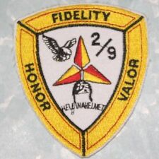 "Marine Fidelity Honor Valor Patch - Hell in a Helmet - 2 7/8"" x 3 1/4"""