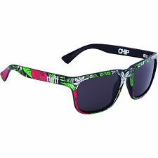NEFF Chip Premium Shades Sunglasses Unisex One Size UV Protection Hibiscus