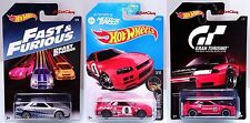 Hot Wheels Nissan Skyline GT-R R32 R34 Gran Turismo Need For Speed Fast Furious