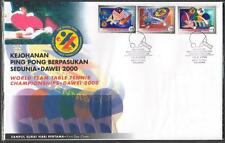 MALAYSIA 2000 World Team Table Tennis Championships Dawei FDC