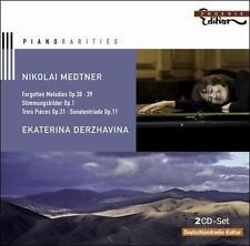 Medtner: Forgotten Melodies Op. 38-39, Medtner, Derzhavina, New