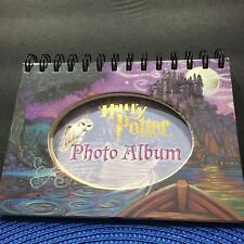 Harry Potter Photo Album Hardcover Spiral Bound Stand Up Multiple Poses