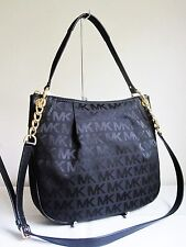 MICHAEL MICHAEL KORS JET SET ITEM MK SIGNATURE LG CONVERTIBLE Shoulder Bag