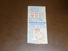 1966 PITTSBURGH PIRATES AT METS DH BASEBALL TICKET STARGELL 2 H.R. MAZ H.R.