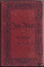 Im Amt Handbuch  für Lehrer Lehrerinnen   Lehrerprüfung  Heinze  1900