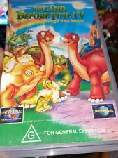 The Land Before Time IV Journey Through The Mist VHS VIDEO �� �� �� FAST POST