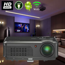 LCD LED Airplay Android Projector HD Smart Home Theater Entertainment Online TV