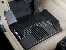 BMW F10 5 Series xDrive 2011-13 All-Weather Floor Liners Molded Mats Black F&R