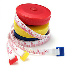 150cm Round Tape Sewing Measuring Cloth Tailor Soft Ruler Dieting Inch knitting