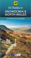 50 Walks in Snowdonia and North Wales by AA Publishing (Paperback) New Book