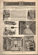 1888 Scientific American March 3-Time keeping in Greece and Rome;Hargreaves