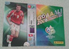 FIFA 2006 World Cup Switzerland ALEXANDER FREI Panini Trading Card