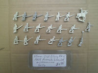 15mm Old Glory 1809 French Line Infantry with Command Primed