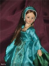 Anne Boleyn,Queen of England-DeAgostini porcelain doll