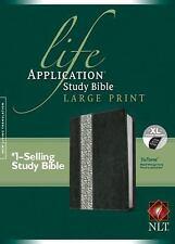 Life Application Study Bible NLT, Large Print, Floral TuTone, , New Book