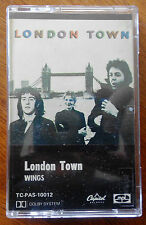 Wings London Town Cassette Made in Australia TC-PAS-10012