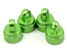 Traxxas Slash Rustler Stampede Ultra Shocks Aluminum Shock Caps (Green) TRA3767G