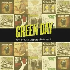 "GREEN DAY  ""THE STUDIO ALBUMS 1990-2009"" 8 CD BOX DOOKIE INSOMNIAC NIMROD NEW+"