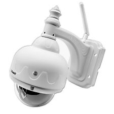 1280x720P HD H.264 Wireless Wifi IP Camera Metal Dome 15 Meter Day Night Outdoor