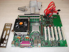 INTEL D865GBF/D865PERC MOTHER BOARD w/CPU 2.53GHz + 3GB Ram+ 4 Cable, for Repair