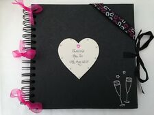Personalizado Gallina night/do Libro de visitas Scrapbook Libro Negro