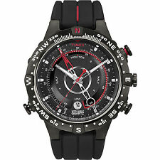 Watch Timex T2N720 Compass black silicone Tide Compass intelligent quartz