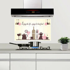 Kitchen Oilproof Removable Wall Stickers Vinyl Art Decor Home Decal S2U
