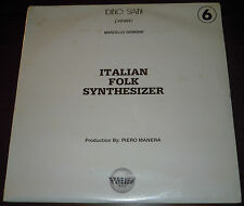 LP MARCELLO GIOMBINI Italian folk synthesizer (Forever 81)electro library SEALED