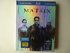 The Matrix (Blu-ray Disc, 2009, 10th Anniversary) NEW Digibook