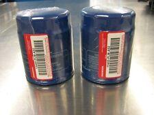 Genuine OEM Honda Oil Filter 2 Pack  w/ Washers