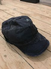 KAPITAL KOUNTRY Indigo Lino Gorra Sombrero hecho en Japón ENGINEERED GARMENTS