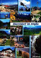 Oberstdorf im Allgäu ,2015 gelaufene Ansichtskarte