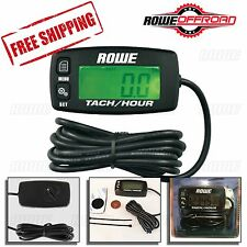 Hour/Tachometer Meter for Inductive Spark Engine (Maint/RPM Alert) ATV BOAT SNOW