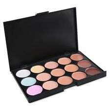 PALETTE CORRECTEUR DE TEINT 15 COULEUR ANTI CERNE CONCEALER MAKE UP NEUF MAC051