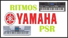 mas de 1000 ritmos mexicanos ,baladas,cumbias para teclados yamaha psr series