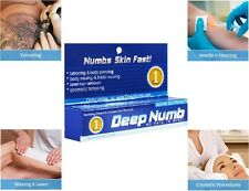 10g Deep Numb skin numb numbing cream painless piercings waxing laser Dr