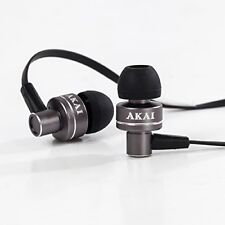 Akai A58049G Noise Isolating In Ear Headphone - Space Grey