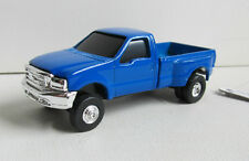 ERTL FORD F-350 DUALLY 5TH WHEEL PICKUP RUBBER TIRES & TRAILER HITCH * LOOSE