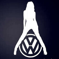 VW SEXY GIRL Funny Car Van Window Bumper GOLF POLO PASSAT Vinyl Decal Sticker