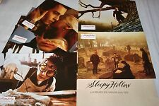 tim burton SLEEPY HOLLOW ! j depp   jeu photos cinema lobby cards