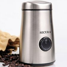 Electric Coffee Bean Spice Grinder Stainless-Steel Blades Mill Nut Crusher Grain