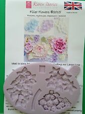 Karen Davies Filler Flowers Sugarcraft mould hydrangea jasmine FAST SHIPPING!