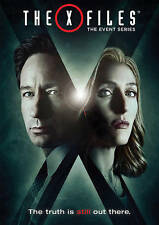 The X-Files: The Event Series (DVD, 2016, 3-Disc Set) Miniseries Season 10 Ten