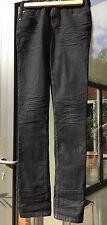 "Mens PEOPLE'S MARKET Jeans. 30"". Black stretch."
