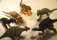 Trabajo Lote De Colección Juguete de plástico sólido dinosaurios 1990S 2000 8 Pulgadas a 10 pulgadas