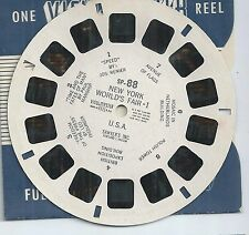SP-88 New York World's Fair I  View-master Reel No Copyright Date