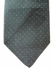 "Ram Black White Polka Dot Mens Skinny Necktie Tie 100% Polyester 58"" by 2.75"""