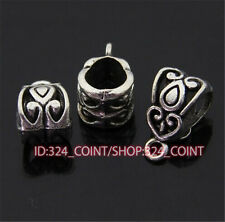 P384 20pcs Tibetan Silver Charms Pendant Hanger Bails Necklace Connector