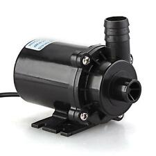 12V DC Submersible Brushless Water Pump for Fountain Pond  Aquarium 750LPH 300cm