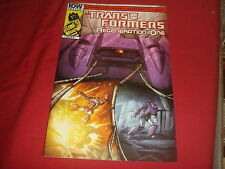 TRANSFORMERS : REGENERATION ONE #89 Cover A Simon Furman IDW Comics 2013 NM